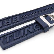 Breitling Diver Pro Band blau mit Dornschliesse  Stahl 24 - 20 mm