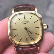 Longines Lady 26 mm vintage solo tempo Gold oro manuale