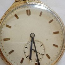 Anonymous Swiss-made pocket watch — 18 kt gold filled