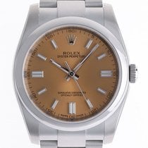 Rolex Oyster Perpetual Stahl Automatik Armband Oyster 36mm...