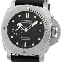 """Panerai Gent's Titanium  47mm """"Luminor 1950 PAM 305..."""