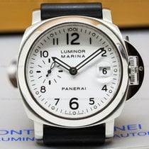 Panerai PAM00049 PAM00049 Luminor Marina SS White Dial 40MM...