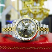 Rolex Oyster Perpetual Datejust Ref: 79173 Yellow Gold Steel...