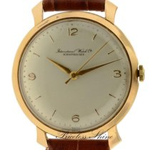 IWC Cal.89 Vintage 18k Pink Gold Ribbon Lugs Fancy Rare Watch...