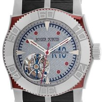 Roger Dubuis RDDBSE014 Dubuis S.A.W. Easy Diver Tourbillon in...