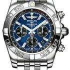 Breitling Chronomat 44 Blackeye Blue