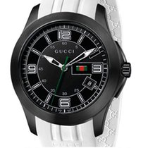 Gucci G-Timeless Black dial 44mm Caucciù YA126204 T