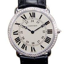 까르띠에 (Cartier) Ronde Louis Cartier 18k White Gold Silvery...