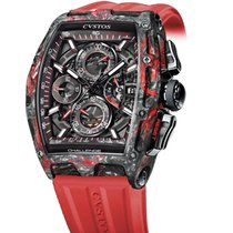Cvstos Challenge Chrono 2 Black/Red Forged Carbon Honolulu