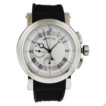 Breguet Marine Chronograph 5827bb/12/5zu 18kt White Gold...