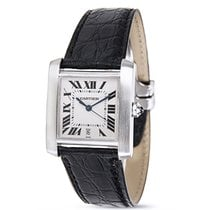 Cartier Tank Francaise 2302 Unisex Watch in Stainless Steel