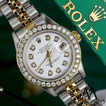 Ρολεξ (Rolex) Original Womens Rolex 36mm Datejust 2 Tone White...