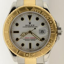 Rolex Yacht-master Two Tone Steel & 18k Gold 16623 Z...