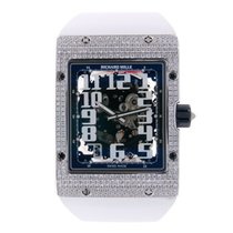Richard Mille Automatic Extra Flat 18K White Gold RM016