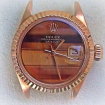 Rolex Ladies 6917 President Head18k Yellow Gold 26mm Factory...