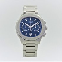 Piaget G0A41006 Polo S Chronograph Steel Blue Dial 42mm