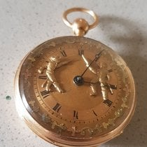 30 Spindle watch - Jaquemarts / figure automatic - The Fencing...
