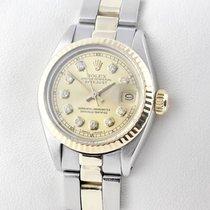 Rolex Lady-Datejust Stahl / Gold Diamanten Damenuhr