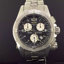 Breitling Emergency Mission 45mm Chronograph Steel Black Dial...
