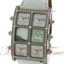 IceLink Senator Five TimeZone, Mother of Pearl Dial, Diamond...