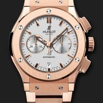 Hublot Classic Fusion Chronograph King Gold Opalin Bracelet 42 mm