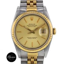 Rolex OYSTER PERPETUAL DATEJUST STELL AND GOLD