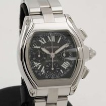 Cartier Roadster XL Chronograph in steel - full set - like new...