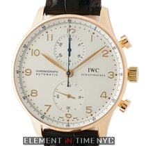 IWC Portuguese Collection Portuguese Chronograph 18k Rose Gold...