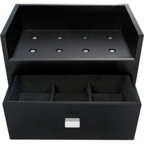 Beco Watch Winders Boxy Center Small Module System, black, NEW