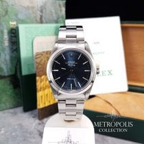 Rolex Air King 14000 Blue Dial / 1998 / Box and Papers