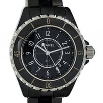 Chanel J12 Black Stahl Keramik Quarz 33mm Ref. H0682