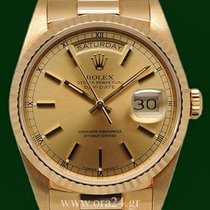 Ρολεξ (Rolex) DayDate 18238 Chronometer 36mm No Stretch 18k...