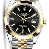 Rolex OYSTER PERPETUAL DATEJUST BLACK DIAL 41MM 126303