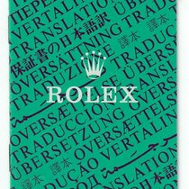"Rolex vintage Booklet ""Oyster Translation"""