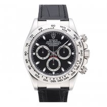 Rolex Cosmograph Daytona 40mm 18K White Gold 116519 Mens Watch