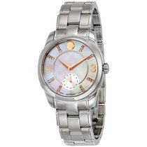 Movado LX Mother of Pearl Dial Stainless Steel Ladies Watch