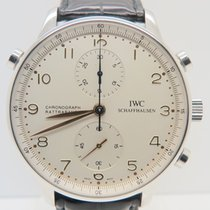 IWC Portuguese Rattrapante Steel Ref. IW3712 (Complete Set)