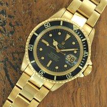 Rolex 18k Yellow Gold Rolex Submariner 1680