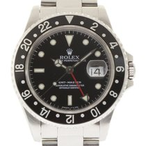 Rolex GMT Master 40mm 16700 Stainless Steel Black 1997...