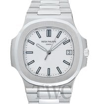 Patek Philippe Nautilus Silvery-white/Steel 40mm - 5711/1A-011