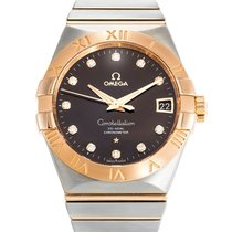 Omega 123.20.38.21.63.001 Constellation Men's Co-Axial...