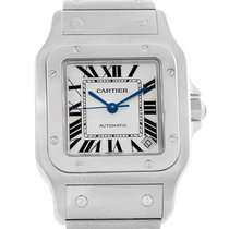Cartier Santos Galbee Xl Steel Mens Watch W20098d6 Box Booklet