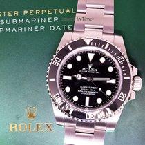 Rolex No Date Submariner Stainless Steel / Ceramic Watch...