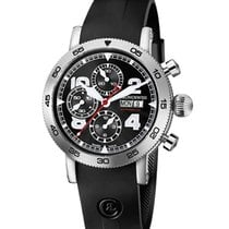 Chronoswiss CH-9043-BK Timemaster Chronograph 44mm Day-date in...