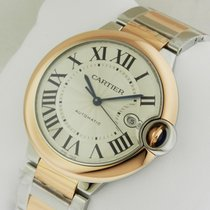 Cartier w2bb0004 Ballon Bleu 42mm Stainless Steel & Rose Gold