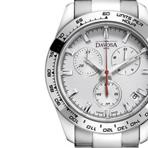 Davosa Swiss Speedline 16347015 Analog Men Wrist Watch Steel...