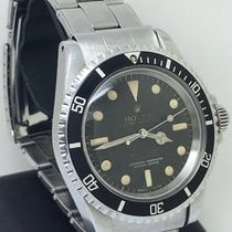 Rolex Submariner 5512 4 Lines Gilt and Silver graphic