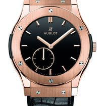 Hublot King Gold Black Dial Black