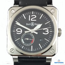 Bell & Ross Reserve De Marche BR0397-BL-SI/SCA
