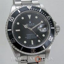 Rolex Submariner Date 16610 Rehaut Gravé FULL SET